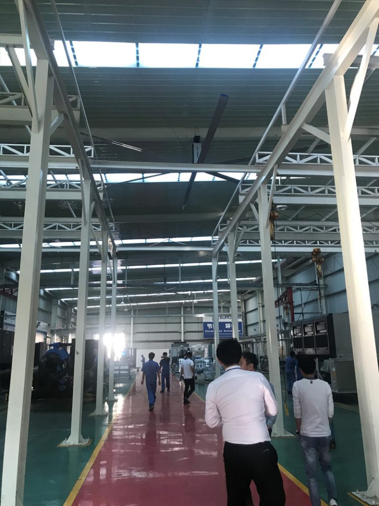 advantages of installing big hvls fan 2