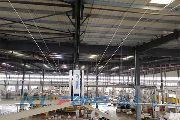 large industrial ceiling fans for factory