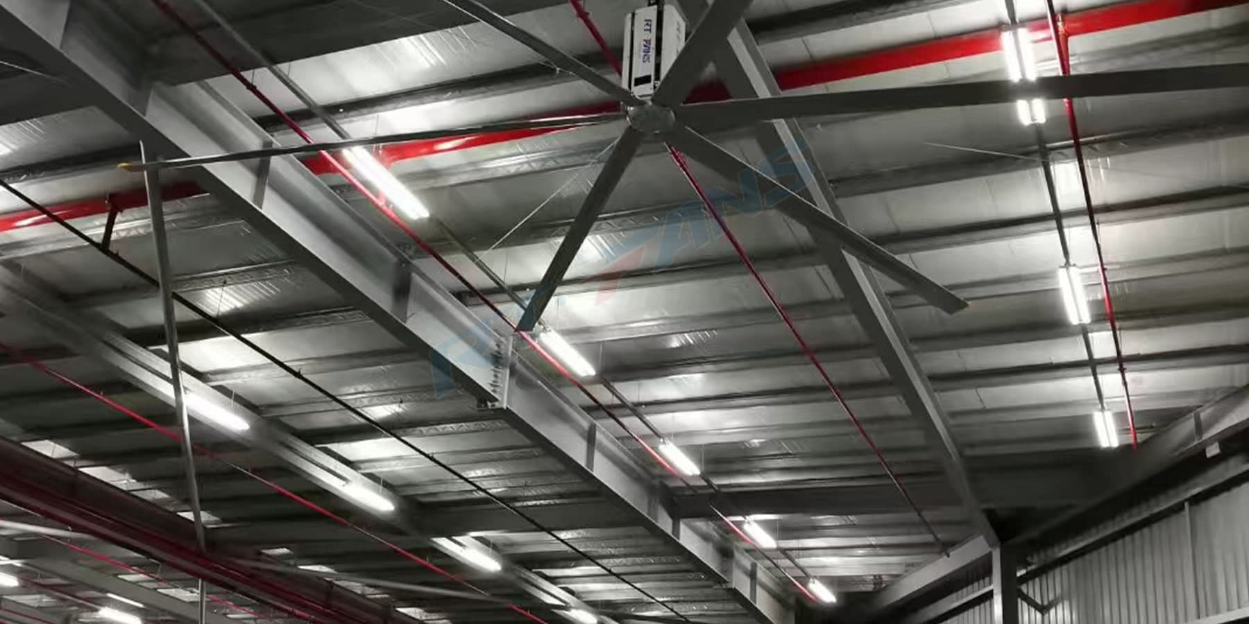 rtfans hvls fan for warehouse case